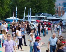 Более 100 катеров и яхт будет представлено  на выставке «VOLGA boat show»