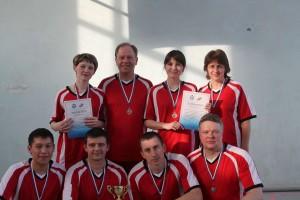 Кинель-Черкассы СОШ 1 1  место  волейбол  учителя