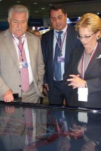 Министр здравоохранения РФ Вероника Скворцова ознакомилась с интерактивным анатомическим столом «Пирогов», разработанным специалистами СамГМУ