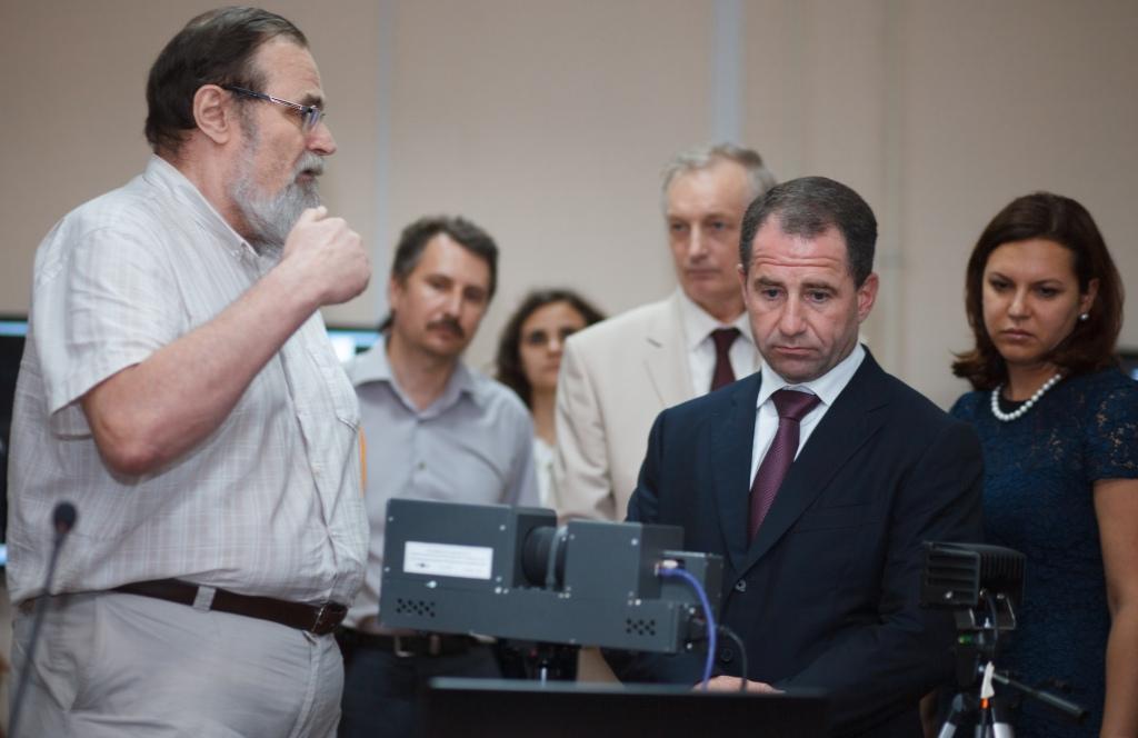 Полномочный представитель президента РФ в Приволжском федеральном округе Михаил Бабич отметил научный потенциал объединенного вуза