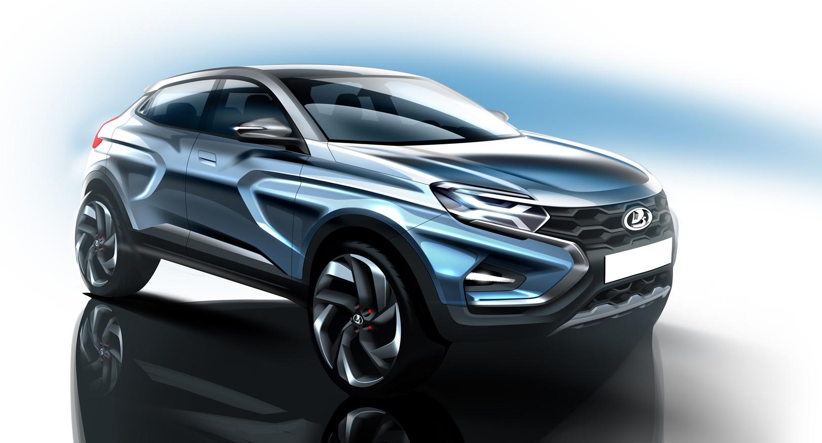 «АвтоВАЗ» показал облик будущих автомобилей lada